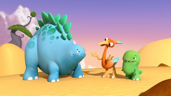 Bob, Gwen und Toni. | Rechte: KiKA/Kindle Entertainment Ltd., Guru Studios Ltd. & Laughing Gravy Media Ltd. 2014