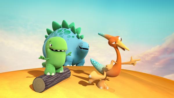 Toni, Bob und Gwen wollen heute etwas ganz Wundervollstes tun. | Rechte: KiKA/Kindle Entertainment Ltd., Guru Studios Ltd. & Laughing Gravy Media Ltd. 2014
