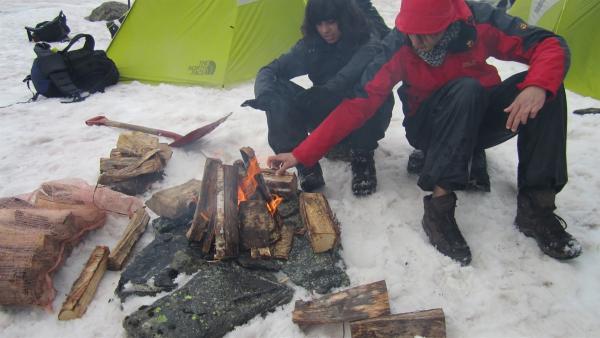 Campen auf dem Gletscher | Rechte: hr/E+U TV Film- und Fernsehproduktion