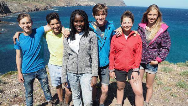Heute bricht der letzte Tag des Abenteuers an. Die sechs Freunde hatten eine wunderbare Zeit, sind aber auch traurig, dass sie sich jetzt trennen müssen. | Rechte: hr/E+U TV Film- und Fernsehproduktion