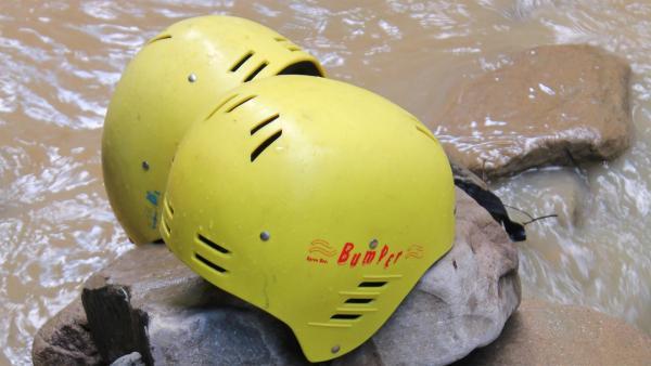 Heute wartet eine spannende Wildwasser-Challenge auf die sechs Abenteurer | Rechte: hr/E+U TV Film- und Fernsehproduktion