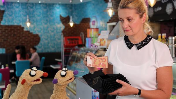 Ein weiterer gefälschter 50€-Schein. | Rechte: NDR/bigSmile