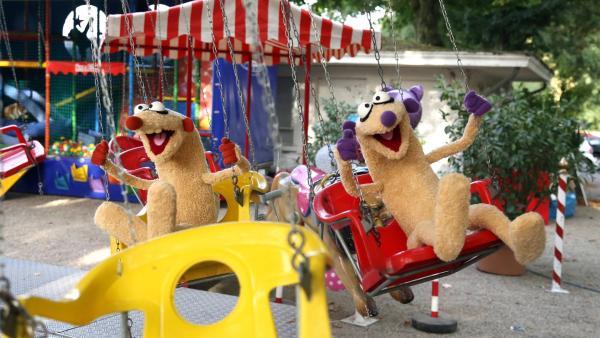 Jan & Henry haben Spaß auf dem Rummelplatz. | Rechte: bigSmile/NDR