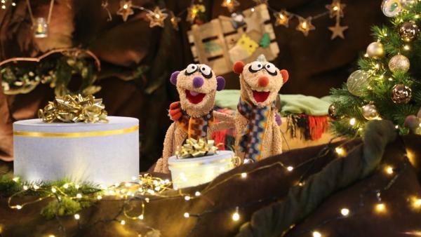 Jan und Henry in der Weihnachtshöhle | Rechte: NDR/bigSmile