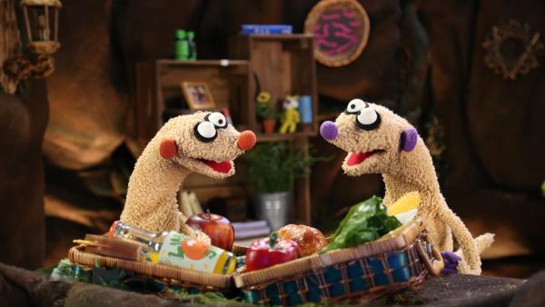 Jan & Henry planen ein Picknick. | Rechte: NDR/bigSmile