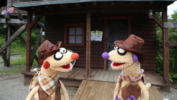 Jan & Henry spielen in einem echten Western mit. | Rechte: NDR/bigSmile