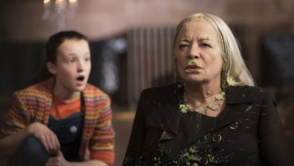 Was hat Mildred (Bella Ramsey) jetzt wieder angestellt?  | Rechte: ZDF/BBC/ZDF Enterprises