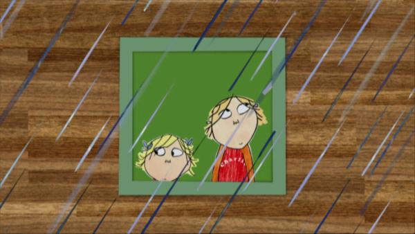 Lola hat Angst vor dem Gewitter – auch wenn sie es nicht zugeben will. Charlie möchte Lola zeigen, dass sie keine Angst haben muss. | Rechte: WDR