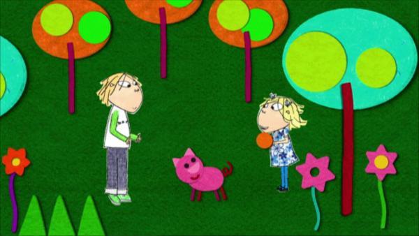 Lola möchte mit Charlie spielen, doch Charlie hat keine Zeit. | Rechte: WDR
