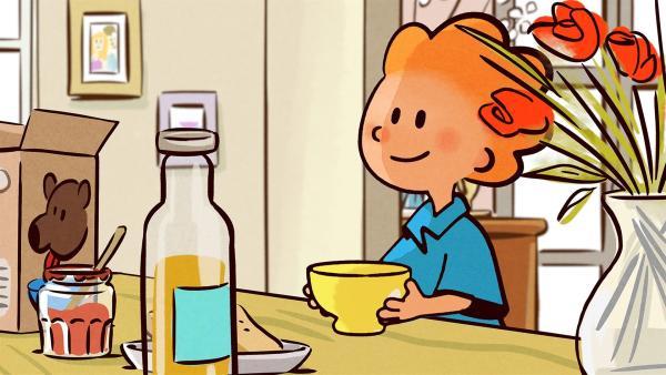 Es ist der letzte Schultag vor den Ferien. Oskar es kaum erwarten, dass endlich morgen ist. | Rechte: SWR/NORMAAL