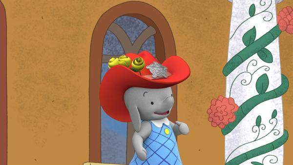 Sheriff Ella übernimmt die Pausenaufsicht.    Rechte: KiKA/TVOKids/FremantleMedia Kids & Family Entertainment/DHX Cookie Jar Inc.