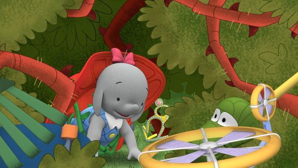 Im dornigen Dickicht ist so einiges versteckt.  | Rechte: KiKA/TVOKids/FremantleMedia Kids & Family Entertainment/DHX Cookie Jar Inc.