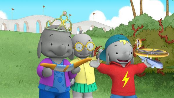 Dank Ella haben alle ihr Spielzeug zurück.  | Rechte: KiKA/TVOKids/FremantleMedia Kids & Family Entertainment/DHX Cookie Jar Inc.