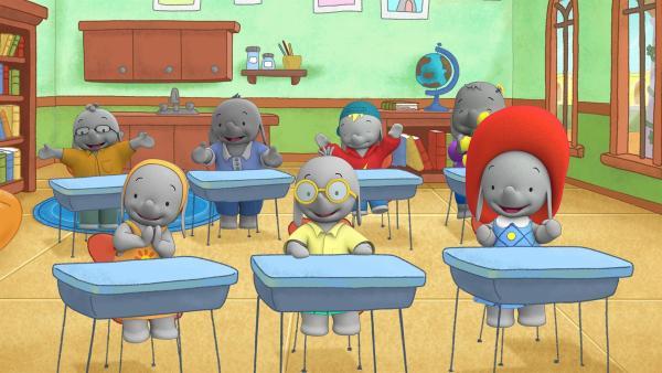 Alle freuen sich. Es wird ein neuer Klassensprecher gewählt.  | Rechte: KiKA/TVOKids/FremantleMedia Kids & Family Entertainment/DHX Cookie Jar Inc.