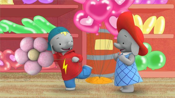 Frankie verhält sich komisch. | Rechte: KiKA/TVOKids/FremantleMedia Kids & Family Entertainment/DHX Cookie Jar Inc.