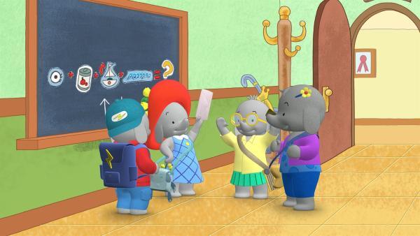 Die Freunde haben das letzte Bilderrätsel gelöst. | Rechte: KiKA/TVOKids/FremantleMedia Kids & Family Entertainment/DHX Cookie Jar Inc.