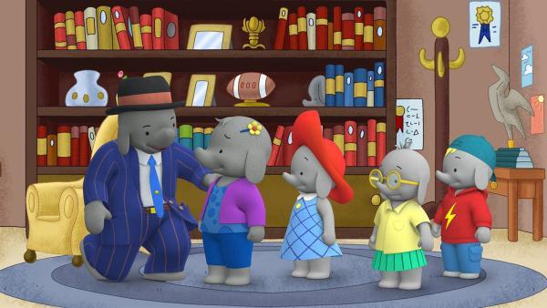 Bürgermeister Blau hat leider keine Zeit für Belinda und ihre Freunde.  | Rechte: KiKA/TVOKids/FremantleMedia Kids & Family Entertainment/DHX Cookie Jar Inc.