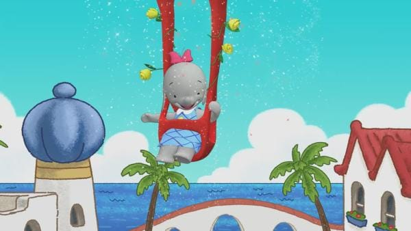 Das Elefantenmädchen singt ihr Lied | Rechte: KiKA/TVOKids/FremantleMedia Kids & Family Entertainment/DHX Cookie Jar Inc.