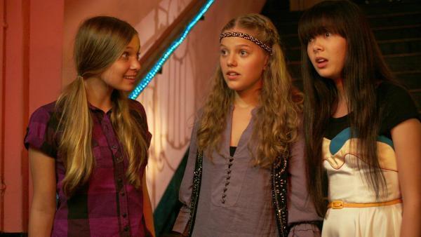 Ally, Emma und Jackie | Rechte: NDR/Southern Star