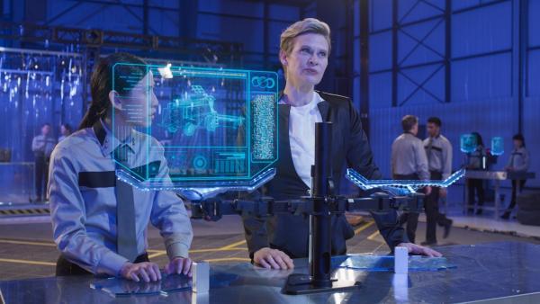 Die Erforschung der Aliens interessiert viele. | Rechte: NDR/Sinking Ship Entertainment/Hulu/CBC/Radio Canada/CBBC/SRC