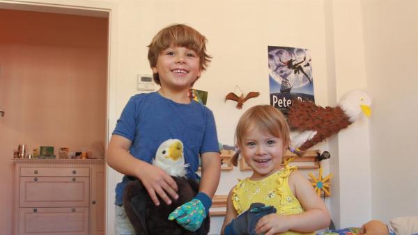 Juri, Marta und der Weißkopfadler | Rechte: KiKA