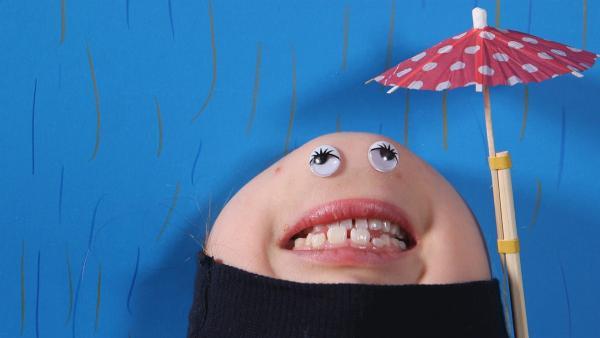 Es regnet, es regnet, die Erde wird nass. | Rechte: KiKA/Motion Works GmbH