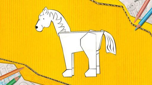 Kika Steckpferd