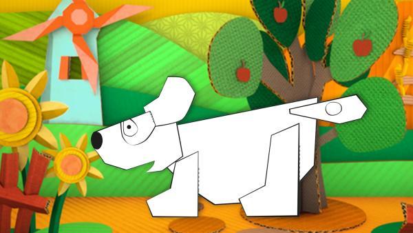 Ein Steckhund | Rechte: KiKA