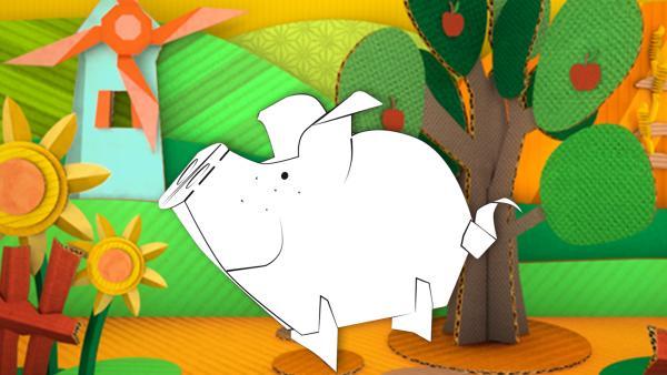 Schwein | Rechte: KiKA