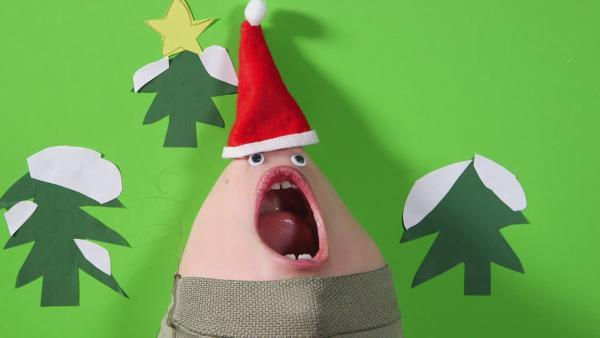Kinngesichter singen ein Weihnachtslied | Rechte: KiKA