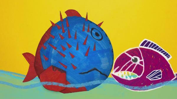 ENE MENE BU Steckfisch | Rechte: KiKA