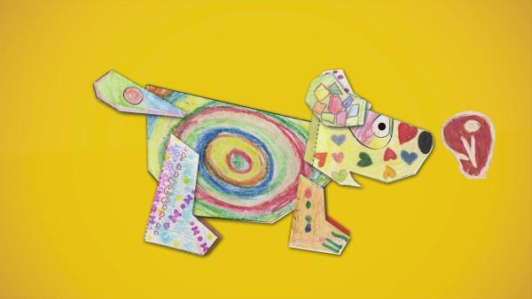 ENE MENE BU Steckhund | Rechte: KiKA
