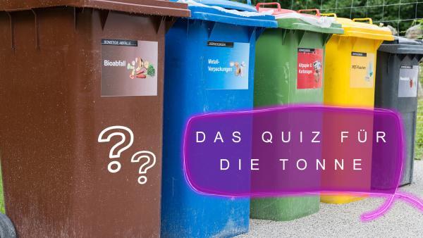 Das Quiz für die Tonne | Rechte: Colourbox