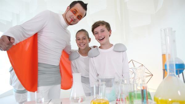 Felix findet, jeder sollte sein Talent finden und entfalten.  | Rechte: KiKA/tvision GmbH