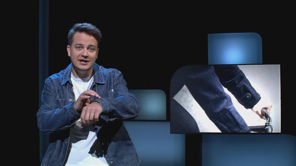 Intelligente Kleidung kann uns in Zukunft im Alltag helfen. | Rechte: KiKA/tvision GmbH