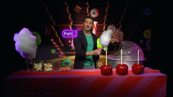 Süßigkeiten, Schokolade, Gummibärchen, Eis, Bonbons, Kuchen, Zuckerwatte, Kekse. Jeder von uns vernascht rund 35 Kilo Zucker jedes Jahr. | Rechte: KiKA