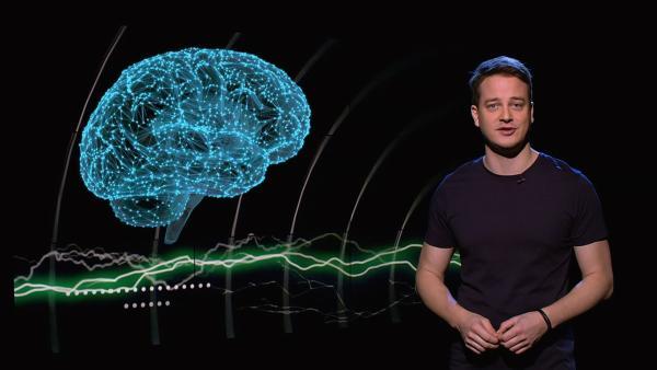Was passiert eigentlich im Gehirn, wenn wir denken bzw. Gedanken haben?   Rechte: KiKA