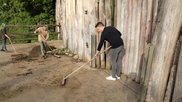 Felix schaut sich ebenfalls einen Zoo mal genauer an, um herauszufinden, wie die Tiere dort leben. | Rechte: KiKA