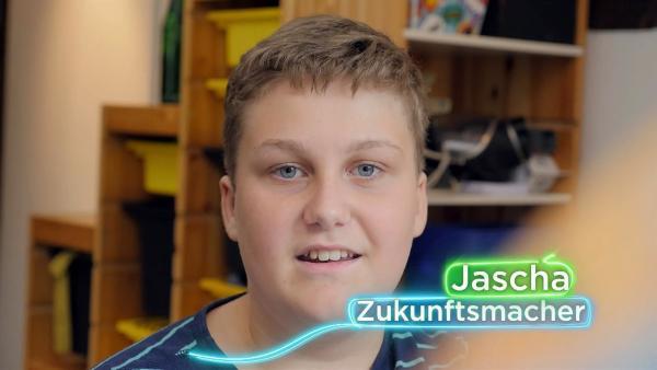 Vielleicht wird Zukunftsmacher Jascha in der Zukunft eine Sprache lernen, die jeder Mensch auf der Welt versteht. | Rechte: KiKA