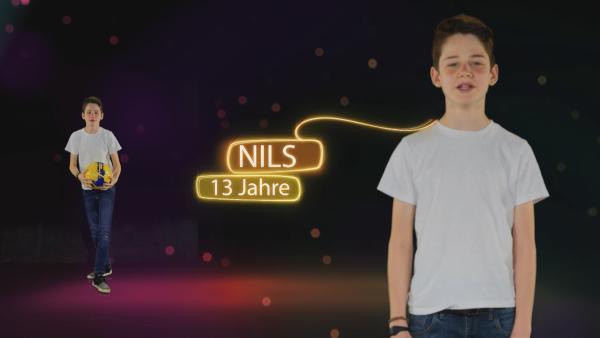 Zukunftsmacher Nils wünscht sich Sportveranstaltungen, die die Umwelt schonen. | Rechte: KiKA