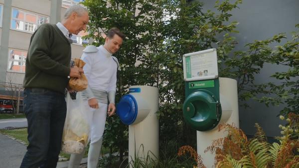 Mülltrennung auf schwedisch: In Hammarby wird der Müll getrennt entsorgt. | Rechte: KiKA