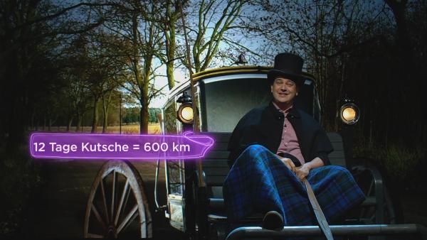 Im 17. Jahrhundert brauchte man für die Strecke von Berlin nach Köln zwölf Tage. Die Reisedauer verkürzte sich dann immer mehr. | Rechte: KiKA