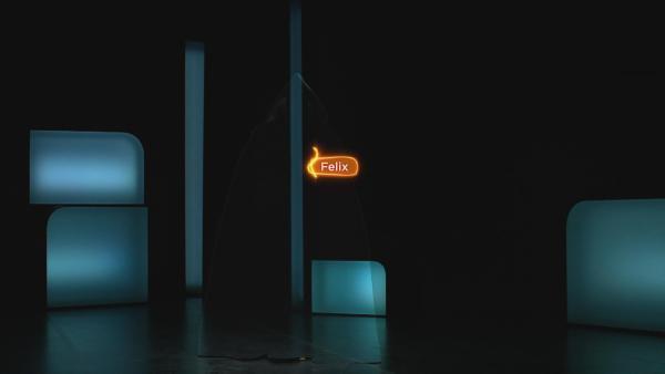 Felix? Felix, wo bist du? Felix hat sich mit einem Schnipp unsichtbar gemacht. | Rechte: KiKA