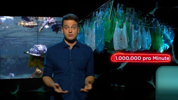 Weltweit werden pro Minute eine Million Plastiktüten verbraucht. Unfassbar, oder? | Rechte: KiKA