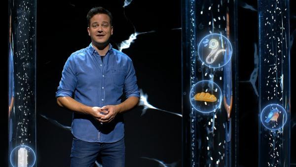Felix macht sich schlau, wie die Wasserversorgung in der Zukunft aussehen könnte. | Rechte: KiKA/tvision GmbH