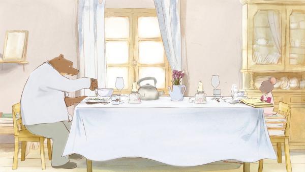 Ernest (l.) und Celestine (re.) sind die besten Freunde und leben zusammen in einem Haus. | Rechte: ZDF / OLIVARI / MELUSINE PRODUCTIONS / SO-NORD / RTBF