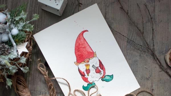Ein Wichtel ist ein kleines Phantasiegeschöpf, das in nordischen Sagen Gutes tut. Der hilfreiche Hausgeist wird daher vor allem in den skandinavischen Ländern zelebriert.