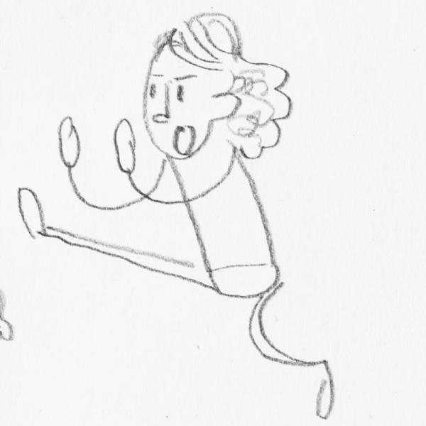 Der Wolf tanzt Ballett, wenn niemand guckt – Was ist Ihr heimliches Hobby? | Rechte: Julia Ocker