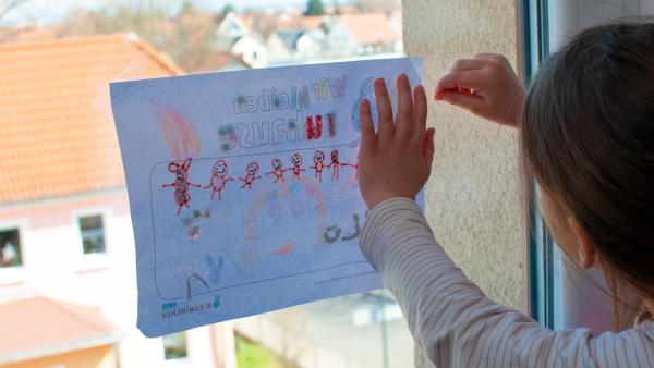 Wir bleiben zuhause | Rechte: KiKA/F. Spanger
