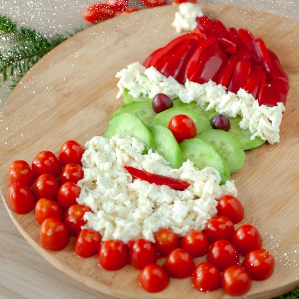 Weihnachtsmann Fingerfood | Rechte: KiKA, Franziska Spanger